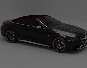 3D model class Mercedes-Benz S63 AMG Cabriolet