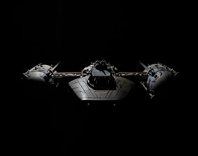 y-wing 3D print model BTL-A4 Y-wing starfighter