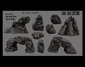 Rocks rocks 3D asset realtime