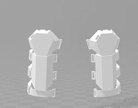 Star Wars TFA First Order SnowTrooper shin 3D print model