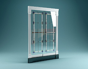 Kohler K704124-A2-SH Bath Door 3D model