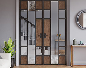 Traditional English Home Metal Door Application - Full