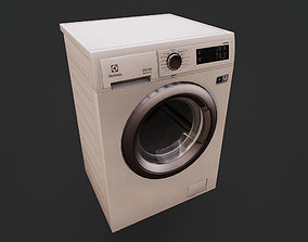 Washing Machine 3D asset