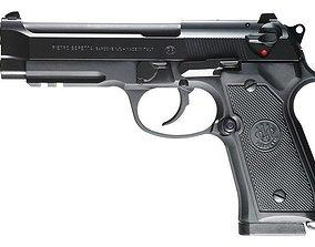 Beretta M9 a1 3D model
