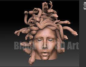 venomous 3D printable model Medusa