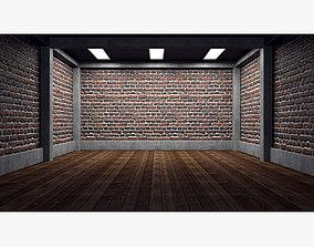 Empty room interior 05 3D model