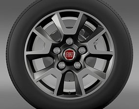 Fiat Ducato Panorama wheel 3D model
