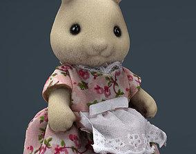 Rabbit Mother 3D asset