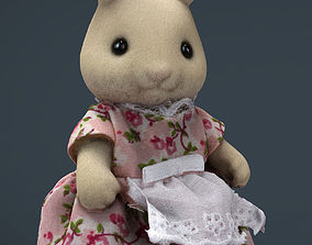 Rabbit Mother 3D asset