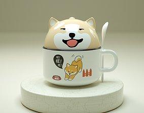 3D Cute Doggy Cup