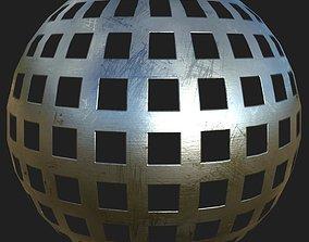 Cutout metal plate 11 3D architectural-textures