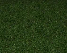3D model ground grass tile 43