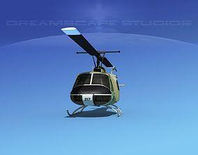 3D Bell UH-1B Iroquois V21 Israel