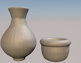 3D printable model Pots for your plant and