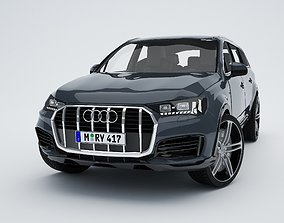 3D asset game-ready AudI Q7 TFSI 2020