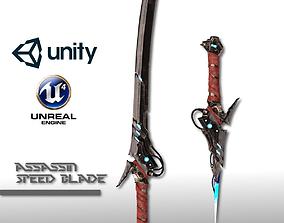Assassin Speed Blade 3D asset