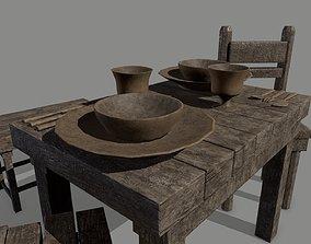 Medieval Set 3D asset