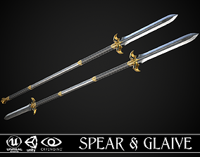 Spear and Glaive A2 3D model