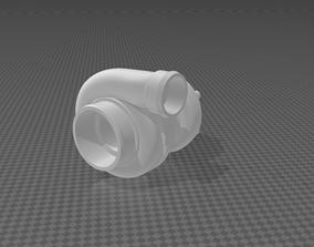 3D print model Turbocompressor