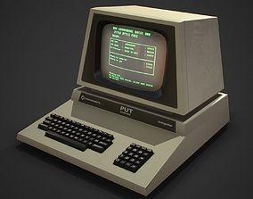 3D model Retro computer Game Ready