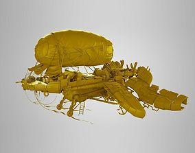 3D model realtime airship