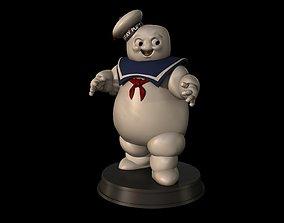 Stay Puft Marshmallow Man 3D print model
