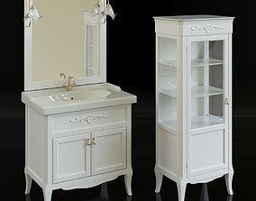 Antica 500 bathroom furniture 3D model