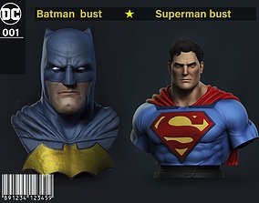 Stl Pack Superman - Batman 3D print model