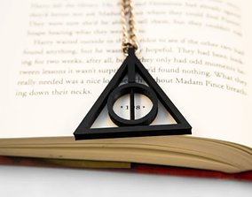 Deathly Hallows necklace for print