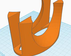 Mac Book Pro 2012 Vertical Stand 3D printable model