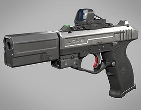 Loris Tactical Pistol WK 3D model
