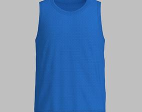 Basketball Jersey 3D asset