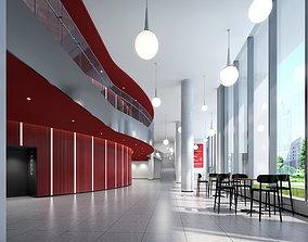 Theatre foyer 3D MODLE