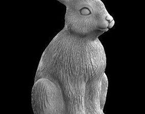 hare rabbit 3d model
