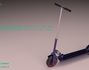 Scooter 3 3D model