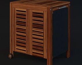 3D Ikea Applaro Storage Cabinet
