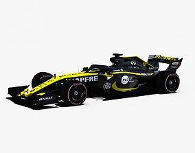 3D model Renault Sport F1 RS18 car
