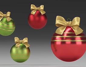 newyear Christmas tree toys 3D model