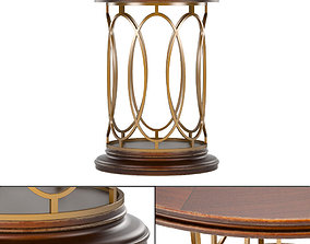 Avalon Heights-Neo Deco Pedestal Table 3D