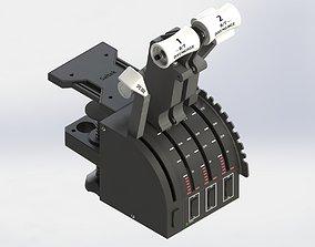 3D print model SPEEDBREAK EXTENSION FOR SAITEK THROTTLE