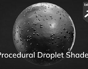 3D Procedural Droplet Shader for Blender soda