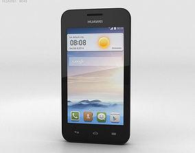 3D Huawei Ascend Y330 Black