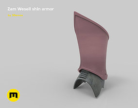 Zam Wesell jewels and armors 3D printable model