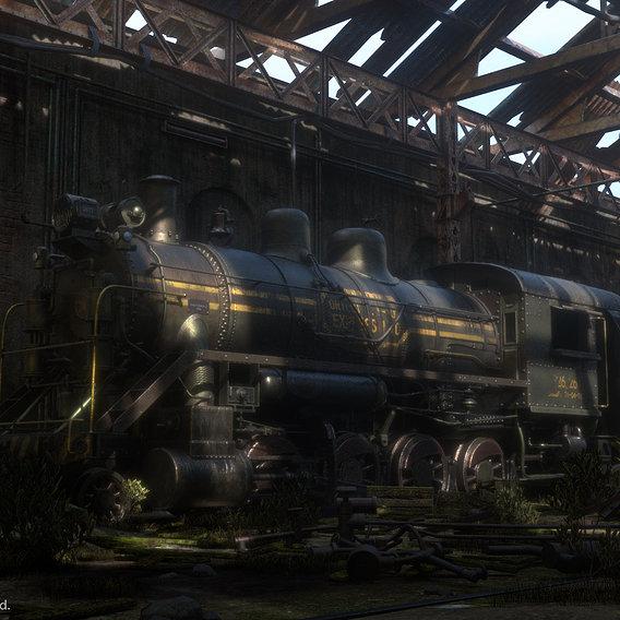 Abandoned Trainyard