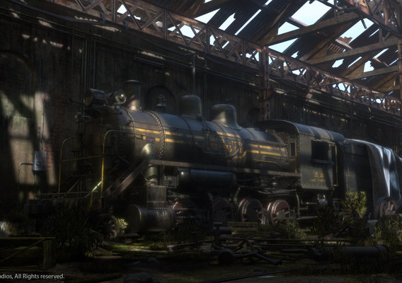 Abandoned Trainyard