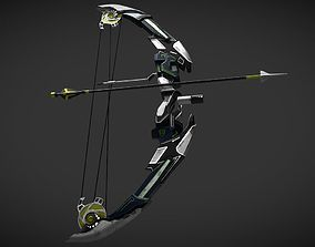 Razer Bow detailedbow 3D model