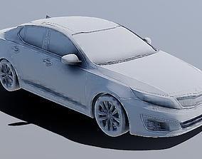 3D Printable STL Kia Optima 3D Model game-ready