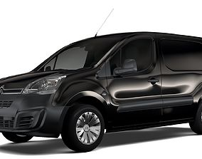 Citroen Berlingo Van L2 2017 3D model