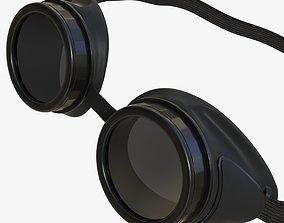 Protective glasses 02 3D model
