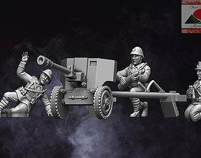 28mm Romanian Artillery WW2 3D printable model